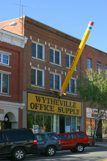 Wytheville Office Supply & The Big Pencil