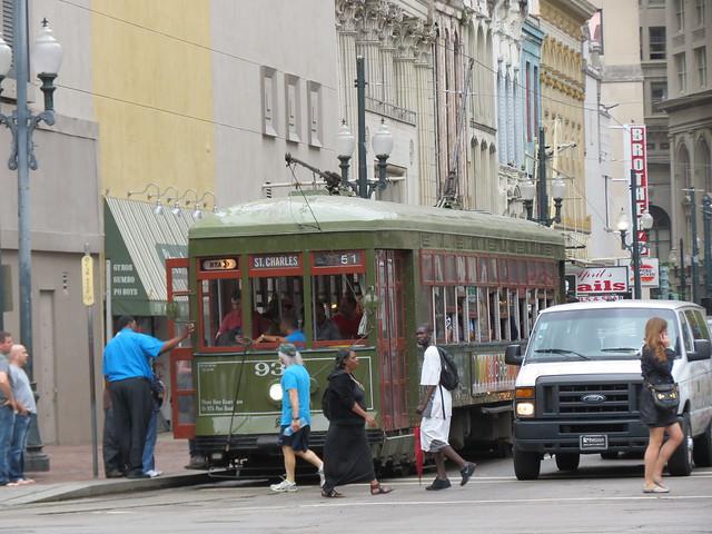 Street Car Street Scene