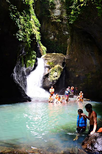 Ambon Ambon Falls Panguil Laguna Pangil river eco park trek hike trekking hiking ecopark piit falls