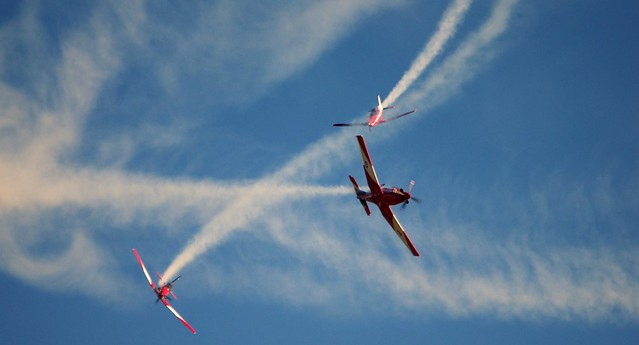 Roulettes aerobatic team - Royal Australian Air Force (RAAF)