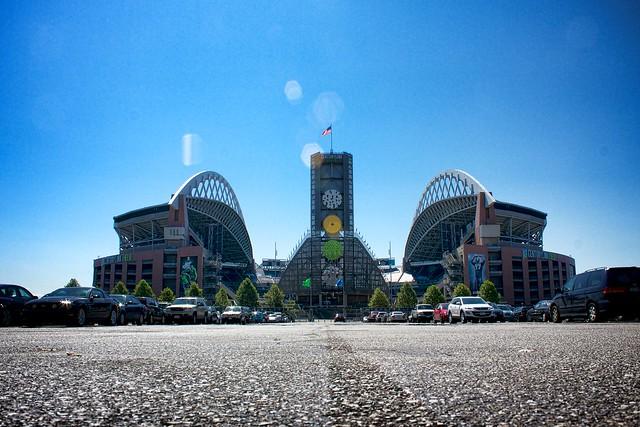 CenturyLink field, Seahawks stadium