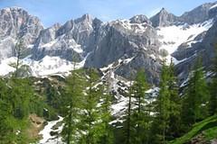 Dachstein, letní skialp za humny