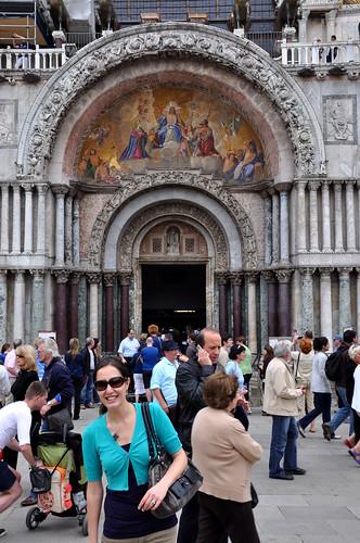 Outside Basilica San Marco