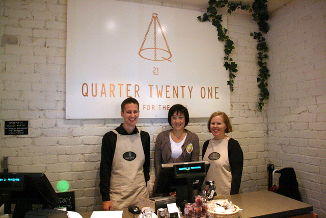 Quarter Twenty One - Level 5 Westfield Sydney, Corner Pitt St and Market St, Sydney