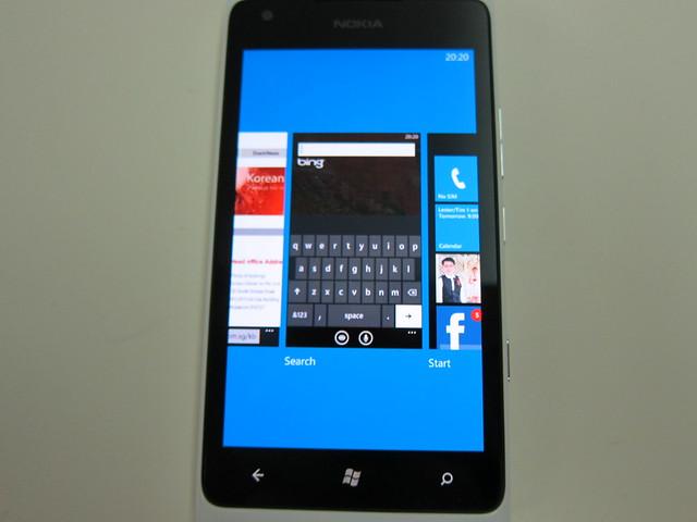 Nokia Lumia 900 - Multitasking