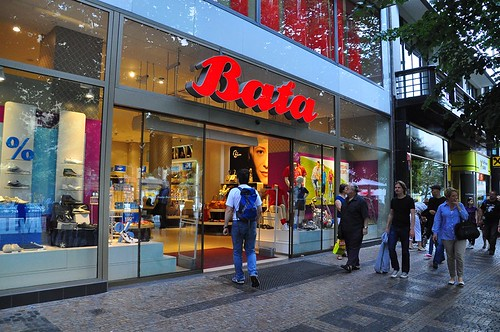 Bata Shoes -- Old Town -- Prague