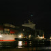 Containership OOCL Yokohama inbound at Spotswood by Wally on water