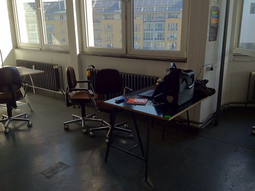 My temp desk @betahaus silent room