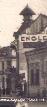 Cladirile de pe locul actualei Poste Centrale - 1941