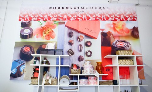 Chocolat Moderne's wall