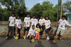 Marziya Shakir Football Marathon 2012 Carter Road Bandra by firoze shakir photographerno1
