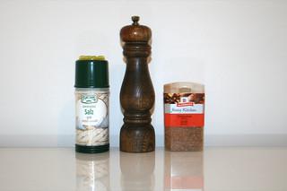 15 - Zutat Gewürze / Ingredient spices