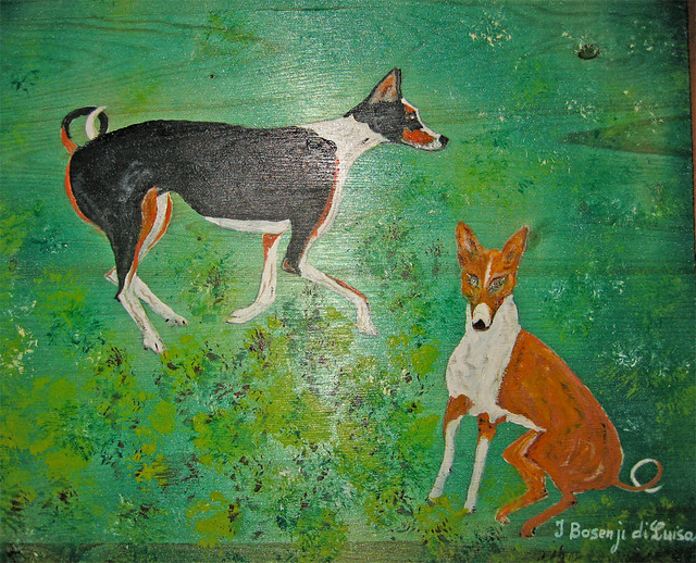 quadro basenji di germano ghetti