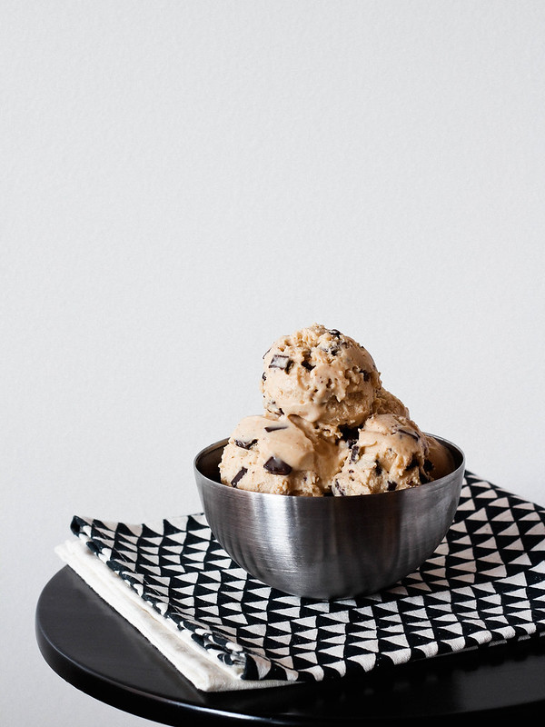 Peanut butter chocolate chunk ice cream