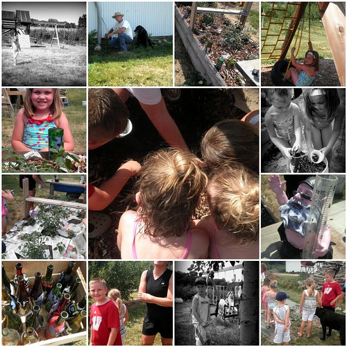 Week 3 Kids in the Garden - mosaic
