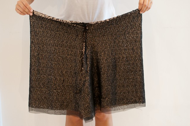 diy sequin shorts 13