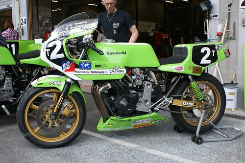 Kawasaki-Performance 1135 (Hampe Racing Team-Club 14, Christian Haquin & Nicolas de Dieuleveut)