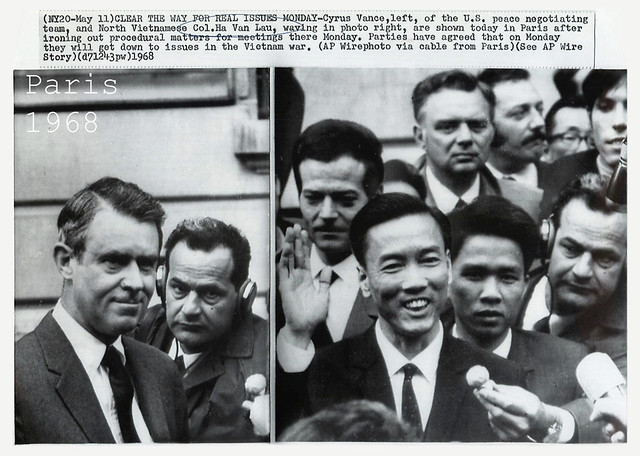 1968 Cyrus Vance and Ha Van Lau