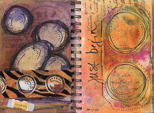 Sprial Journal Spread 1