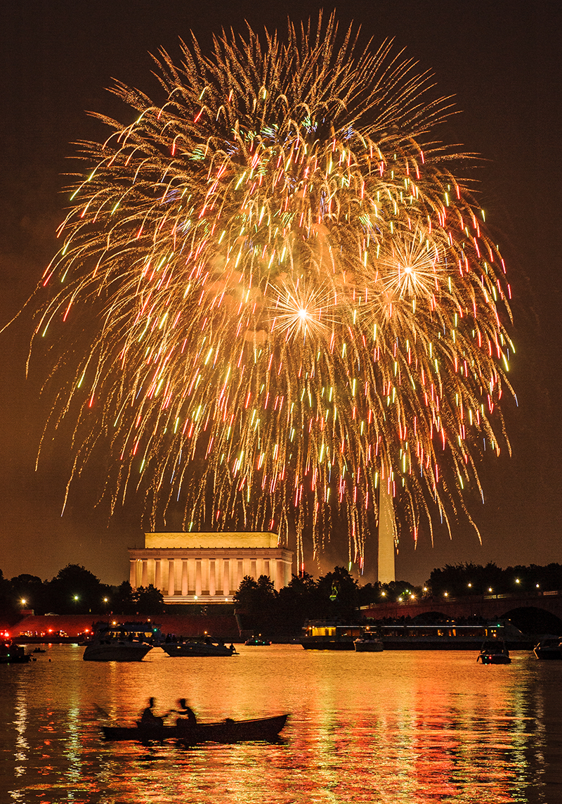 Washington DC, 4th of July