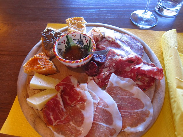 Local Maremma Foods at Santa Lucia Winery