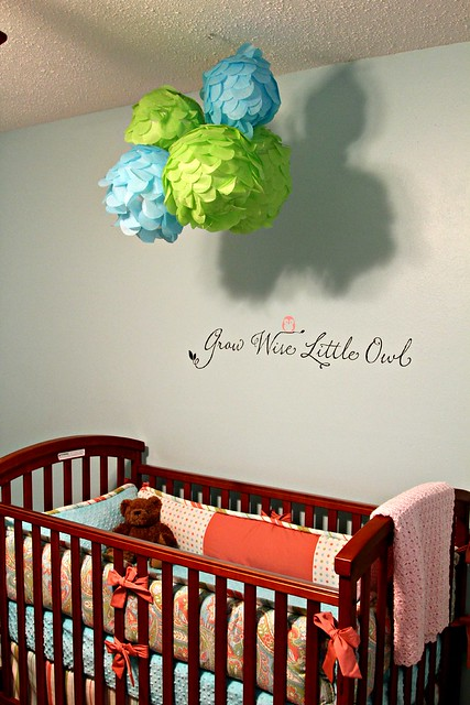 Nursery Words on the Wall