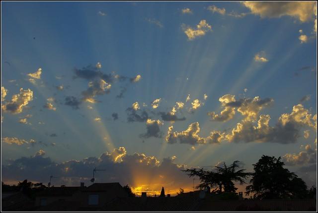 Glorious sunset !