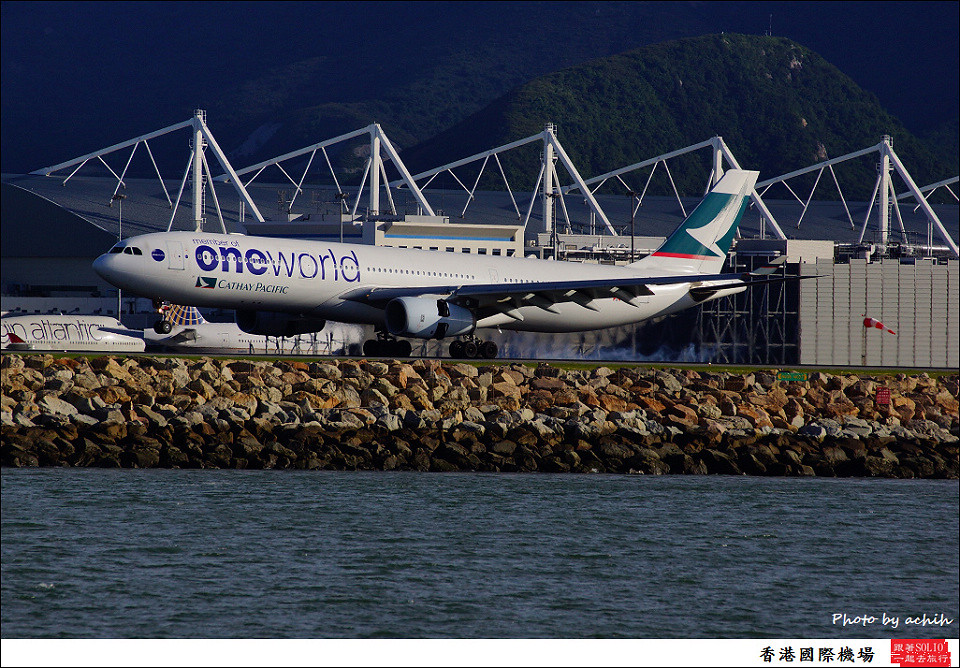 Cathay Pacific Airways / B-HLU / Hong Kong International Airport