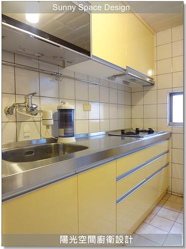 廚具│廚房設計│廚具大王林易延-深坑北深路桑小姐一字型廚具-陽光空間廚衛設計10