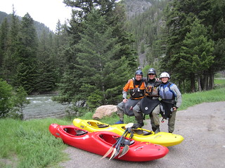 Whitewater Kayaking Big Sky Resort Montana