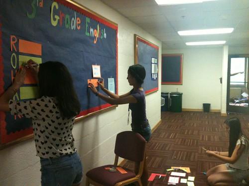NSLC EDUC Finalizes a Bulletin Board