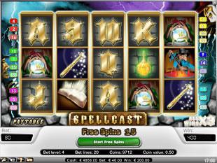 Spellcast bonus game