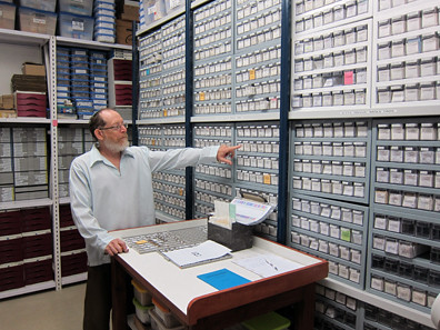Israel Antiquities Authority coin vault