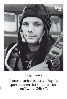 Yuri Gagarin, primer hombre en viajar al espacio exterior