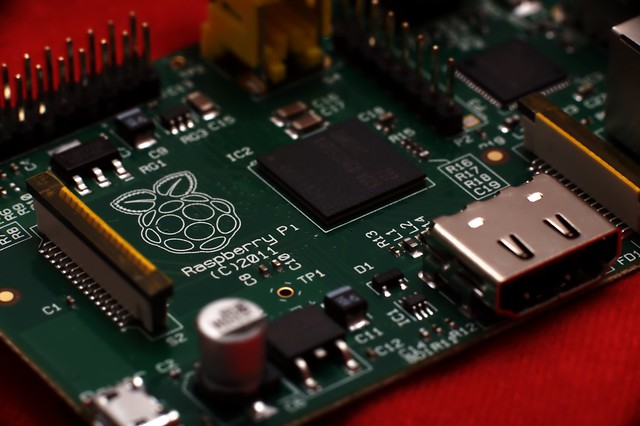 Raspberry Pi closeup