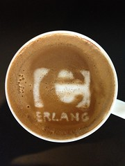 Today's latte, Erlang.