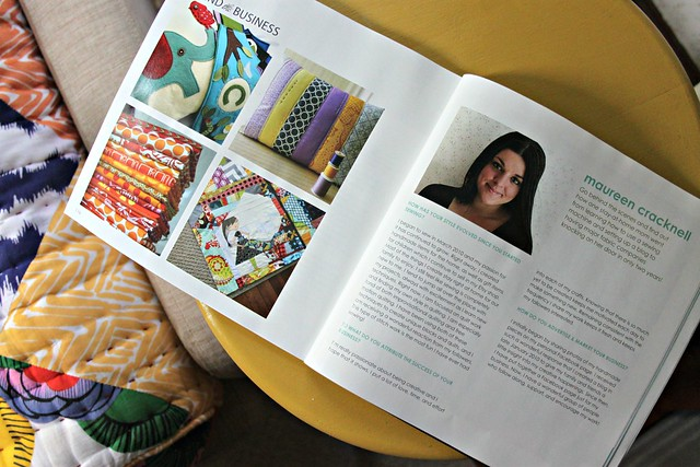 Simply Handmade Magazine -- interview