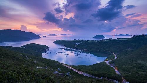 nature sunrise canon landscape hongkong blackcard 5dmarkiii