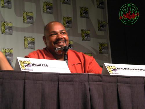 "San Diego Comic-Con 2012;""Go Green! With Lean, Mean, Ninja Team — Nickelodeon's Teenage Mutant Ninja Turtles (sneak peek)"" panel, Kevin Michael Richardson  iv"