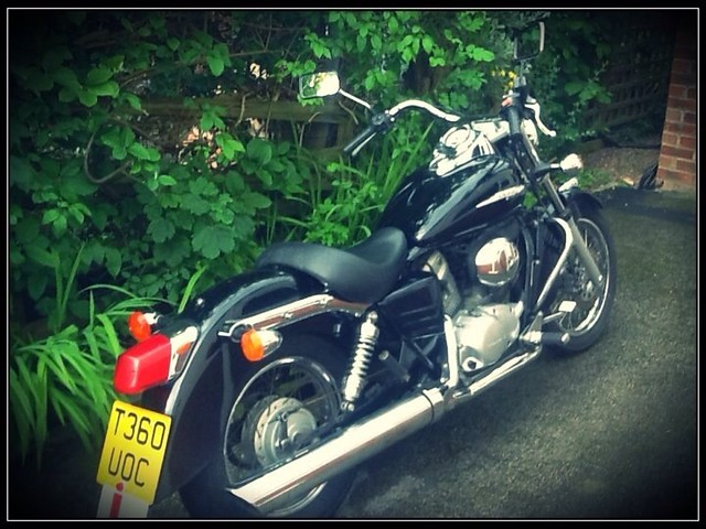 honda shadow vt 125cc solo seat flickr photo sharing. Black Bedroom Furniture Sets. Home Design Ideas
