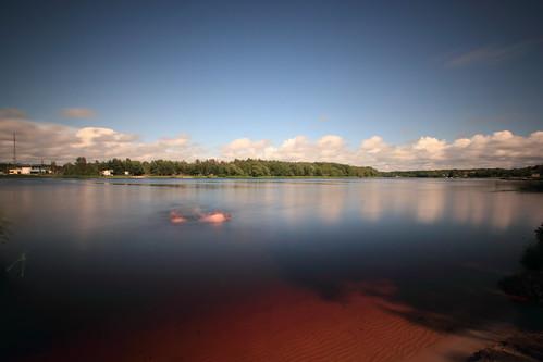 longexposure sky reflection river estonia wideangle tamron eesti pärnu 1024 uwa 550d nd110 pärnuriver pärnujõe