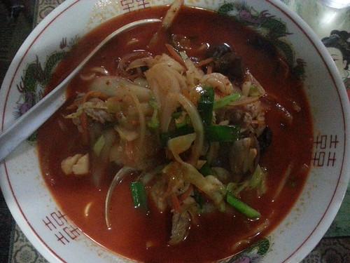 ra120721新雪園 辛口チャンポン麺
