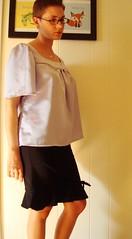Lavender blouse 2