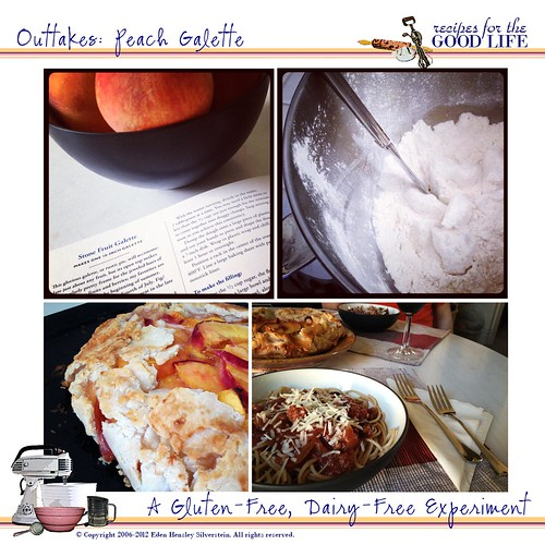 Kitchen Outtakes: Peach Galette