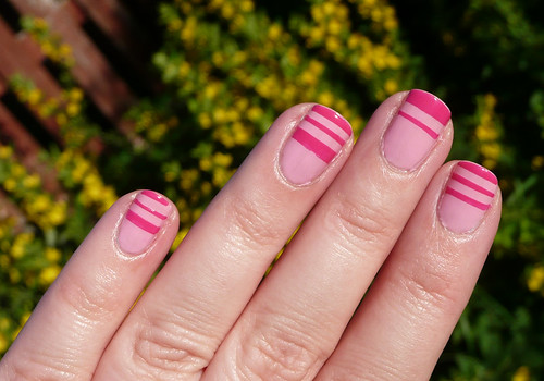 pink stripe mani2