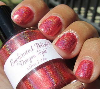 Boyfriend Picks a Polish: Enchanted Polish Dragon Spit