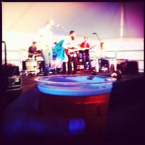 Lowell Folk Festival Honky Tonk Beer!