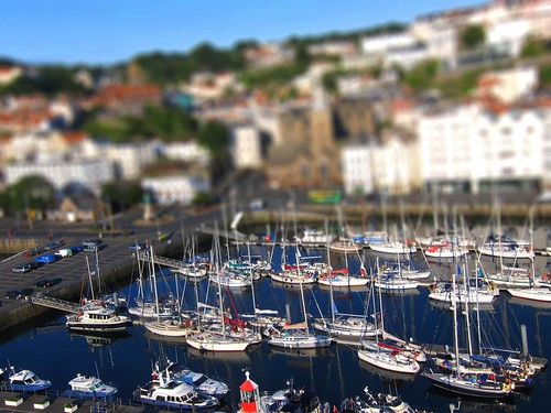 kite st port marina sunrise boat kevin harbour yacht shift victoria aerial peter kap seafront tilt guernsey kiteaerialphotography lajoie tiltshiftmakercom aeriali kevinlajoie