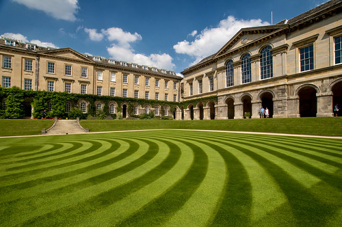UK - Oxford - Worcester College 01