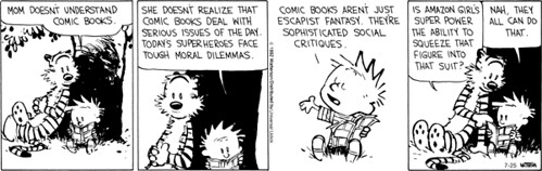 Calvin & Hobbes - Mom Doesn't Understand